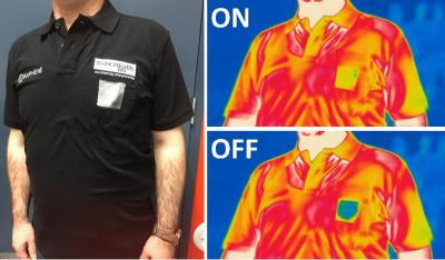 Graphene-enhanced smart textiles developed for heat adaptive clothing