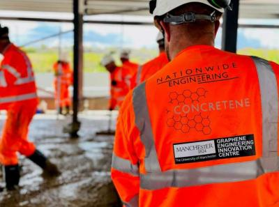 Graphene-based concrete used in a commercial setting for the first time